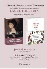 Librairie Ithaque jeudi 18 mai 2017  rencontre avec Laure Hillerin.jpg