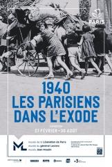 Exode Affiche 1940 Les Parisiens et l exode.jpg