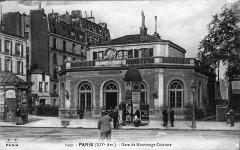 Gare de montrouge Ceinture photo prise de l'actuelle avenue du général Leclec ( avenue d'orléans avant).jpg