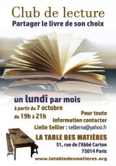 la table des matières 51 rue de l'abbé carton 75014, ressourcerie culturelle, café associatif