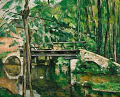 cézanne,rue de l'ouest,musée du luxembourg