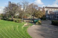 square du Cardinal Wyszynski amphitheatre.jpg