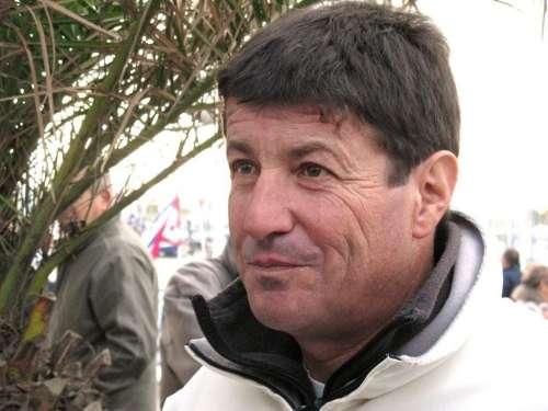 Jean Le Cam juste avant le départ du Vendée Globe.JPG