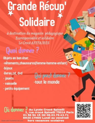 grande récup solidaire au lycée Crocé Spinelli 75014.jpg