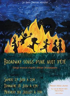 les anges chanteurs Broadway Songs d'une nuit d'été.jpeg