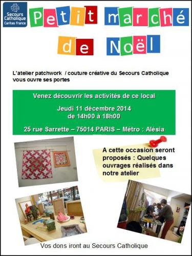 couture,patchwork,atelier,secours catholique