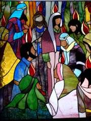 la Pentecôte vitrail moderne.jpg