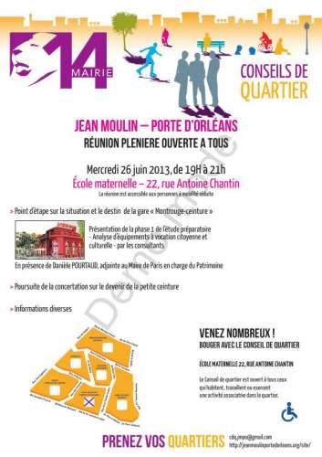 Conseil de quartier Jean Moulin porte d' Orléans réunion plénière 26 juin.jpg