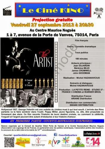 Ciné-Kino 27 sepembre 2013 Affiche The Artist  v 0.2 - Copie.jpg