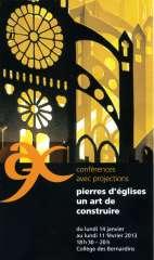 bernardins,conférence,art,architecture religieuse