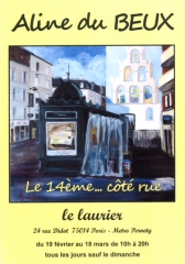 aline du beux,marie-lise gall,apst-14,le laurier 24 rue didot 75014