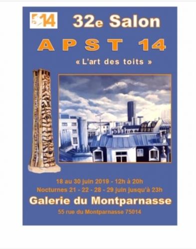association des peintres et sculpteurs témoins du 14ème, galerie du montparnasse 75014