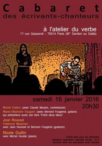 ecrivants chanteurs 16 janvier 2016 al'atelier du ver.jpg
