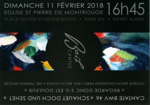 bach cantus,bach,concert,75014;paris 14e