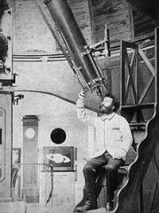 220px-Camille Flammarion à Juvisy au milieu des années 1880  dans son observatoire.jpg